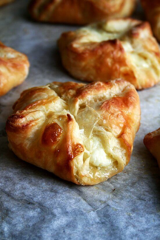Of all the baking efforts I have made over the years to transform my kitchen into one of my favorite cafes, none has succeeded more than this food processor Danish pastry — light, flaky, buttery and easy to make to boot. // alexandracooks.com