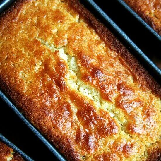 Lemon-Ricotta Pound Cake