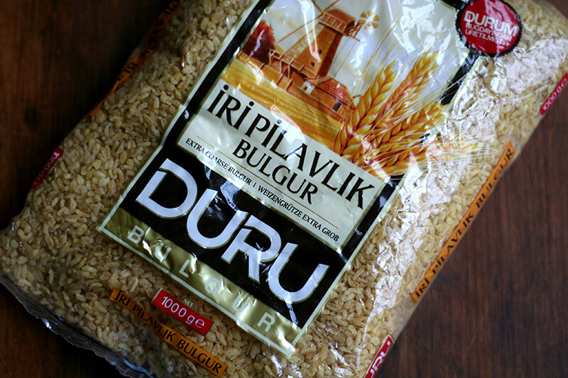bag of bulgur