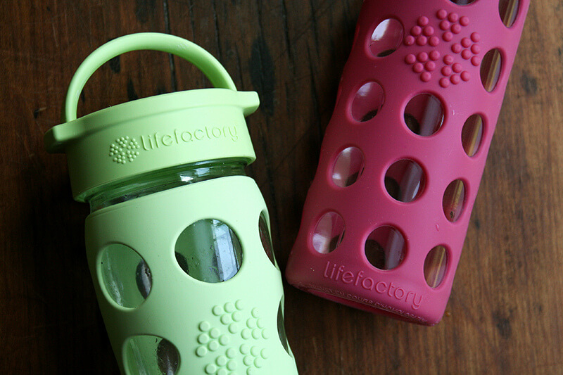 Lifefactory water bottles