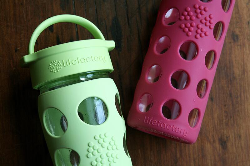 Lifefactory water bottles