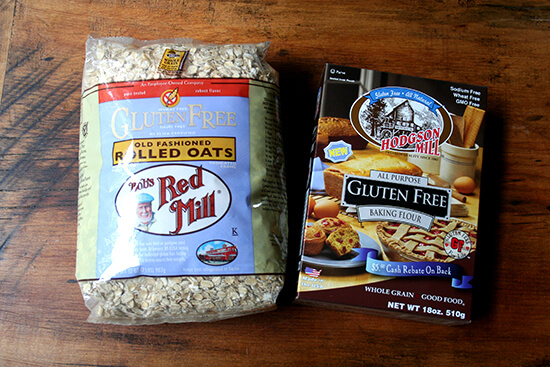 gluten-free baking ingredients
