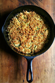 Super Easy Summer Squash Gratin