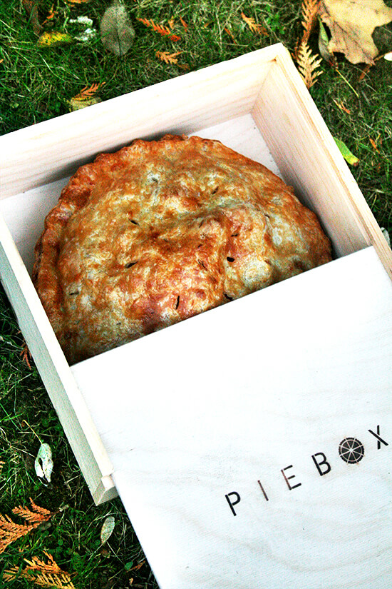 pie in piebox