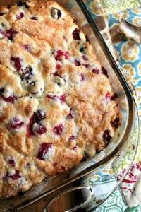 buttermilk cranberry breakfast cake