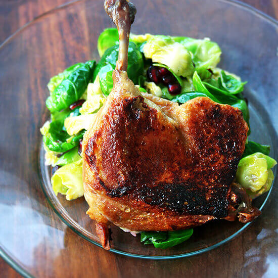 Duck Leg Confit: 3 Hours, 3 Ingredients