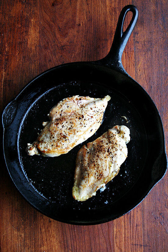 Tender Pan-Fried Chicken Breasts Recipe - Allrecipescom