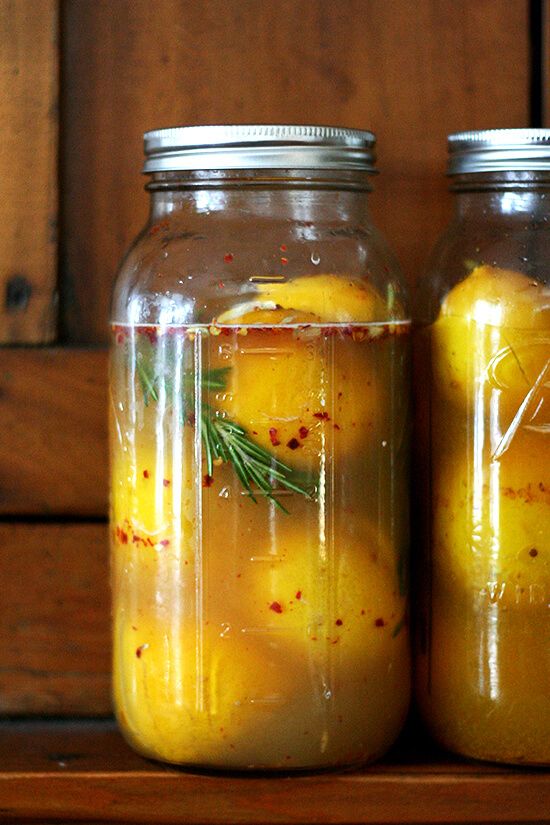 A staple of North African, Indian and Middle Eastern cuisine, preserved lemons are used in countless dishes from chicken tagines to couscous salads. Here are two simple and easy methods for including them in your culinary pursuits. // alexandracooks.com