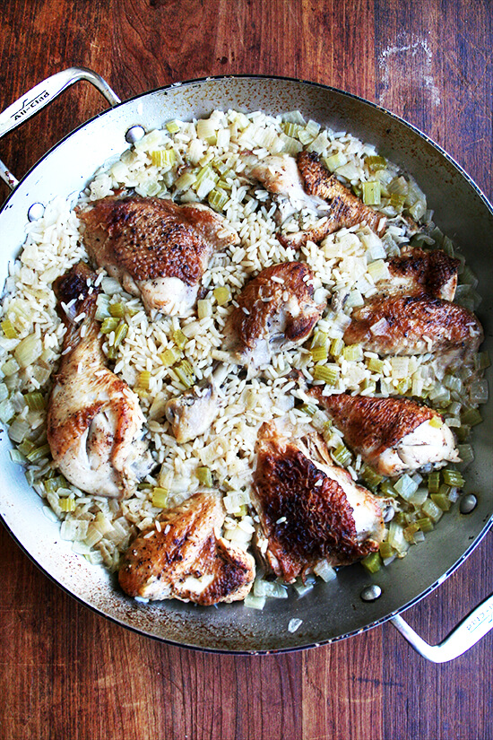 canal house chicken and rice