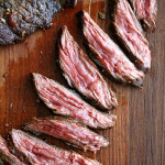 Skirt or Flap Steak with Shallots | Also, Chocolate Bread