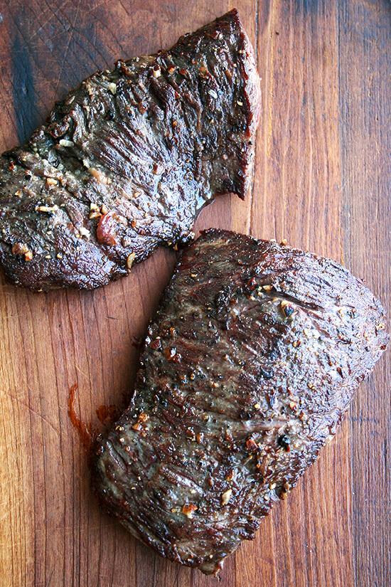 steak, resting