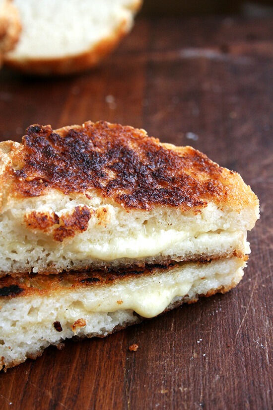 gluten-free grilled cheese