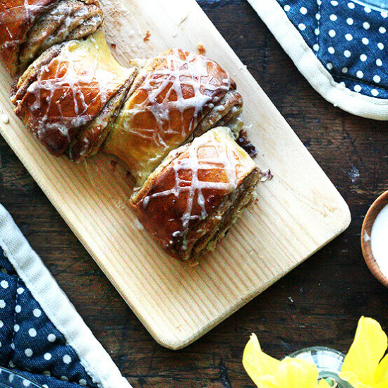 Cinnamon and Sugar Pull-Apart Bread