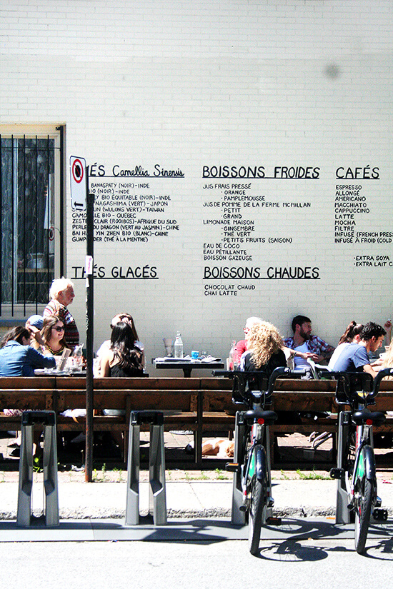Arts Cafe patio