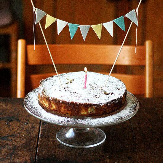 Rhubarb Schnapps | Rhubarb Cake