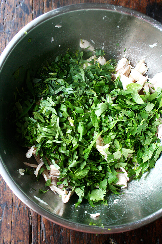 herbs added