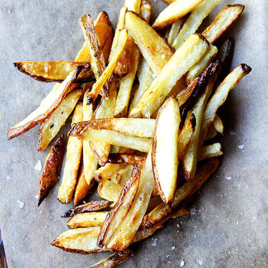 Crispy, Homemade Oven-Baked French Fries