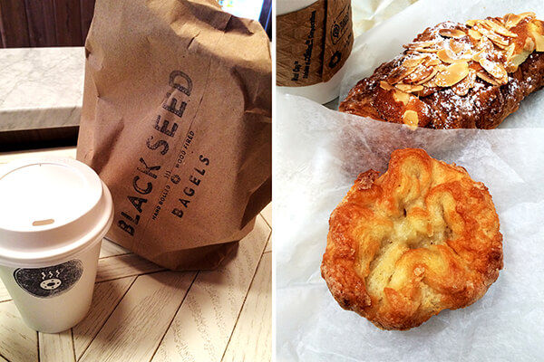 Black Seed Bagels and Kouign Amann.