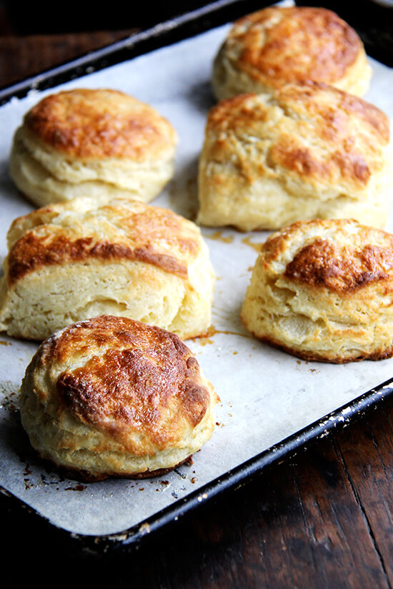 I always forget how easy butter milk biscuits are — one bowl wonders, ready in a snap! With soup and stew season upon us, this biscuit recipe, with maple and sea salt, is a good one to have on hand. // alexandracooks.com