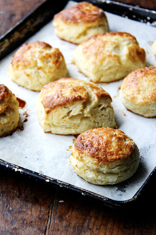 just-baked buttermilk biscuits