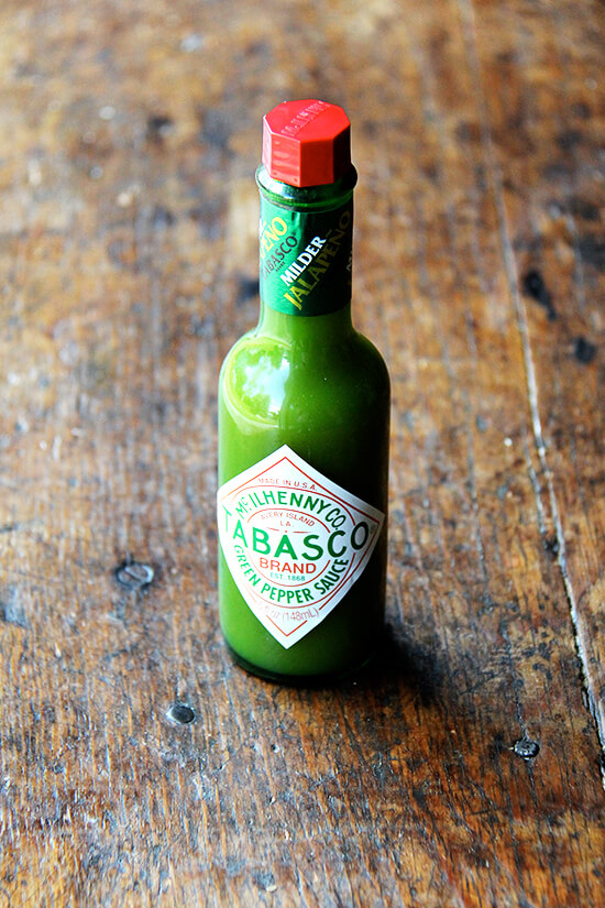 green tabasco