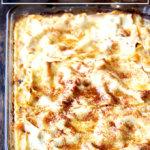 Butternut squash lasagna.