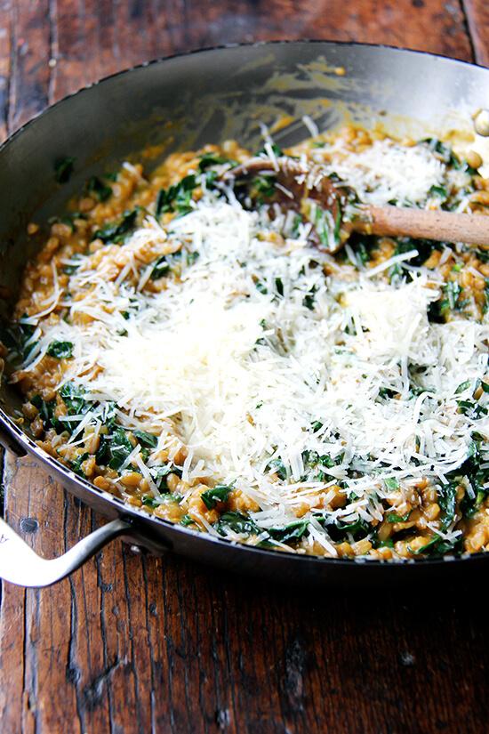parmigiano reggiano added