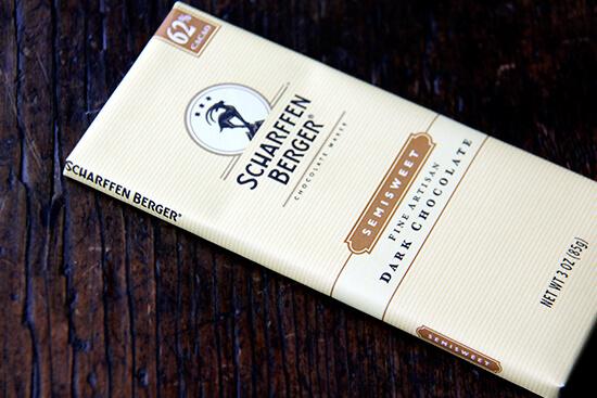 scharffen berger chocolate bar
