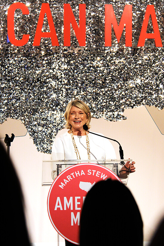 For the past three years, Martha Stewart has been honoring small businesses — rising stars in the fields of food, crafts, design and style — who are making a difference in their communities, influencing how we eat, shop, live, etc. at the American Made Summit. // alexandracooks.com
