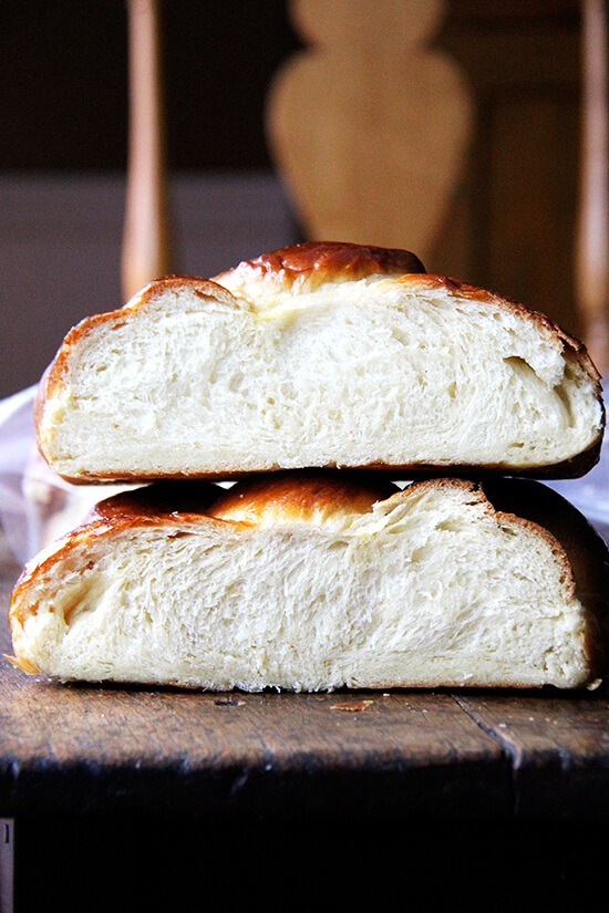 day-old challah