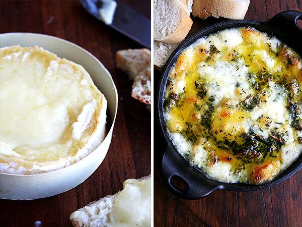 baked camembert, baked fontina
