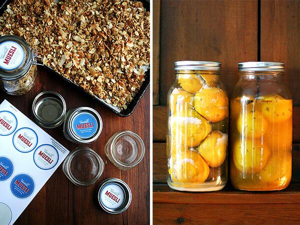 Toasted Muesli, Preserved Lemons