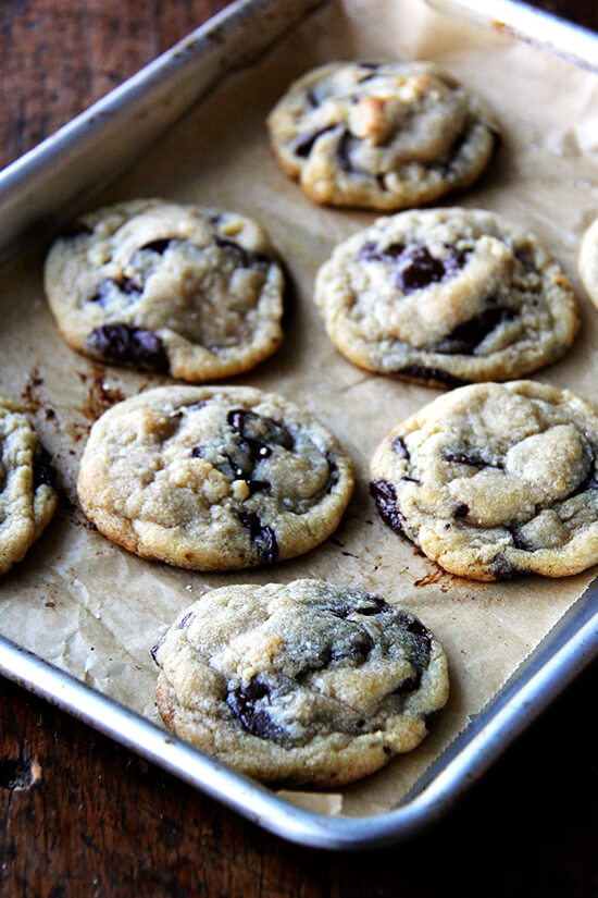 just-baked cookies