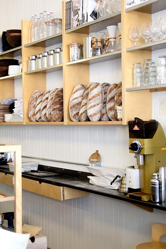 bread on shelf