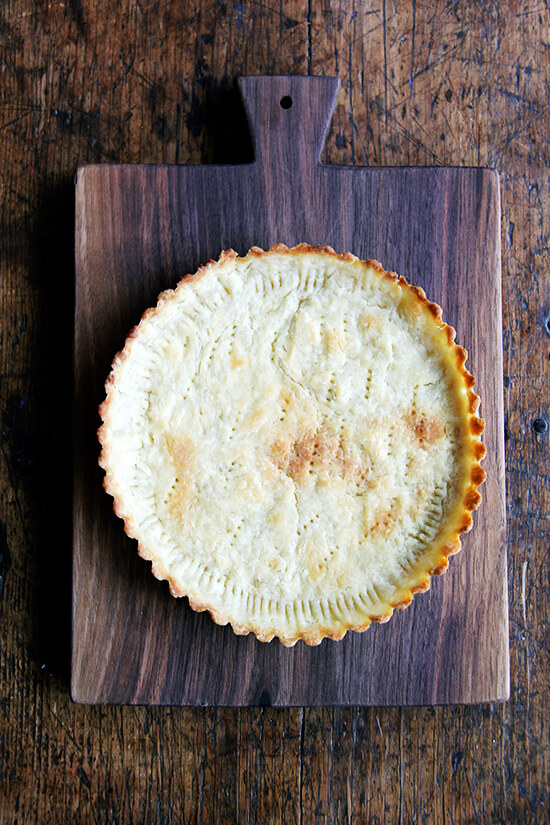 Paule Caillat's brown butter tart shell