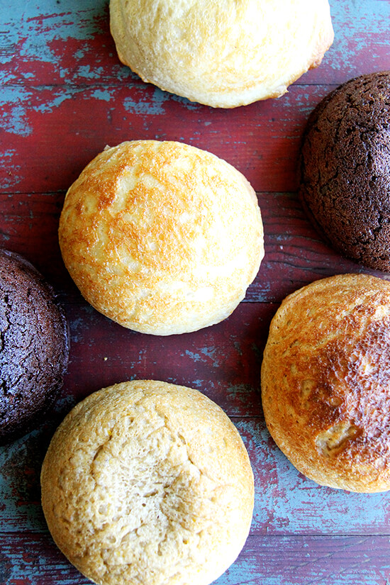 Friends, I'm so excited to share some news - I'm writing a cookbook! The book will include the master peasant bread recipe with variations — dark chocolate with coffee, whole wheat with cornmeal, lavender honey, to name a few — as well as recipes for using the fresh and days-old bread — sandwiches, toasts, panini, stratas, bread pudding, etc. — right down to the crumb. // alexandracooks.com
