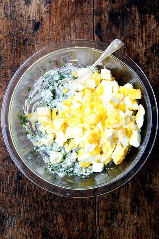 pickled egg salad