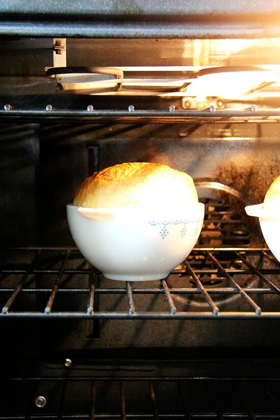 peasant bread baking