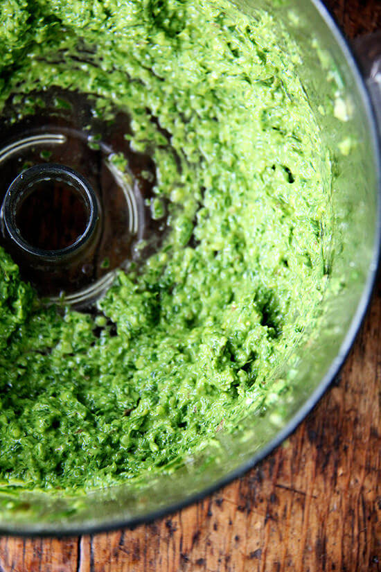 ramp green pesto
