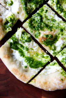 Ramp Green Pesto & Pizza | Pickled Ramps