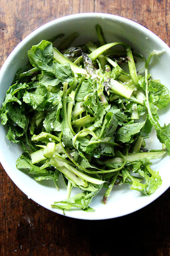asparagusandarugulasalad