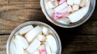 Pick-me-up Pickled Turnips and Beets