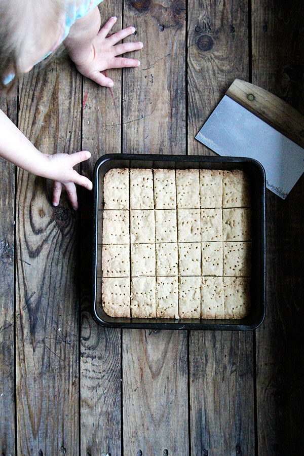 just-baked shortbread