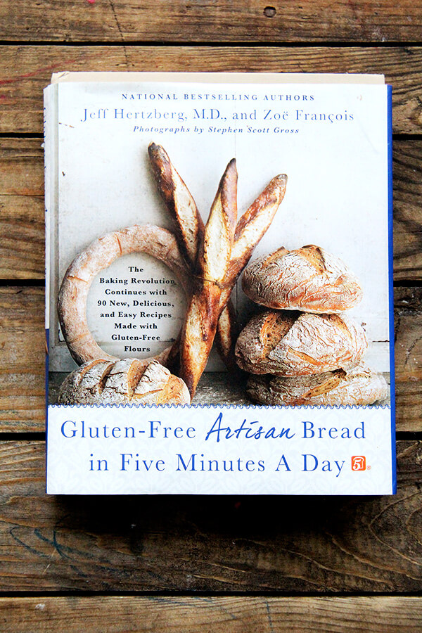 Today, I'm guest posting on my friend Phoebe's award-winning blog, Feed me Phoebe. The subject is Gluten-Free Artisan Bread in Five Minutes a Day. // alexandracooks.com