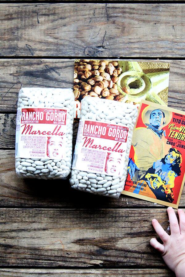 Rancho Gordo Marcella Beans