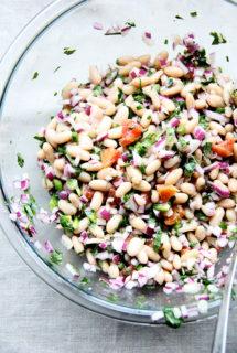 White Bean and Orange Salsa