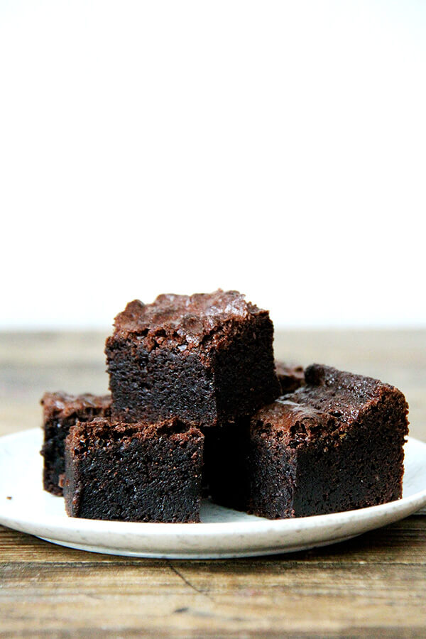 Fine Cooking S Rich Fudgy Brownies Alexandra S Kitchen