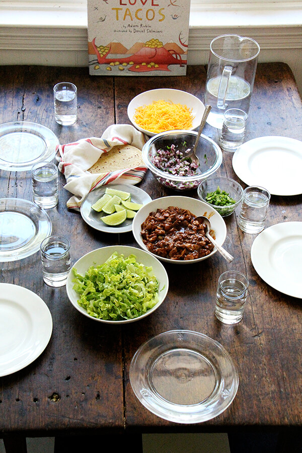 taco Tuesday table