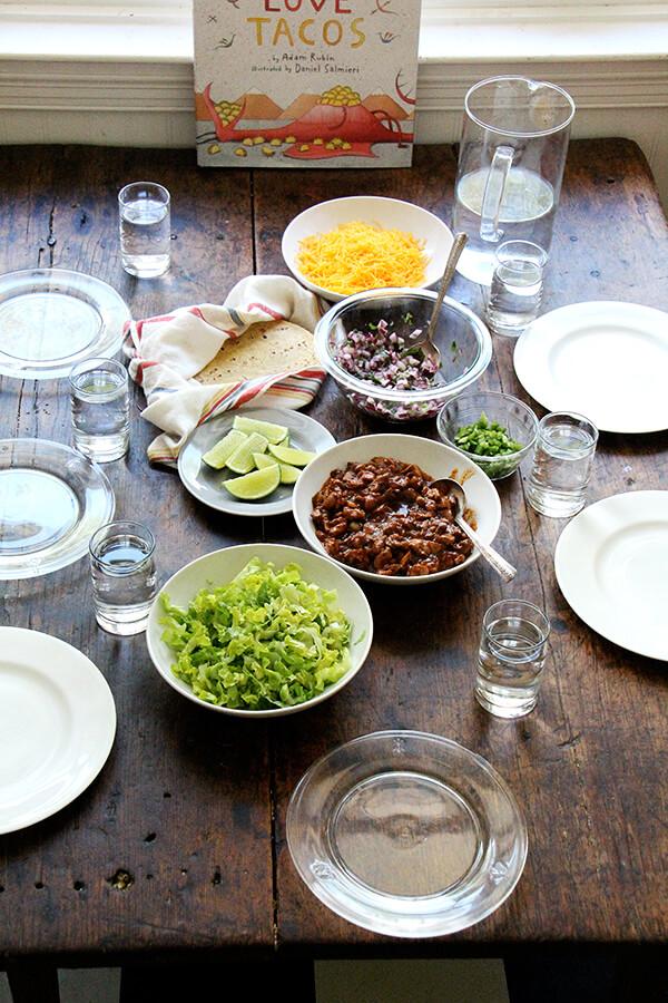 taco Tuesday table