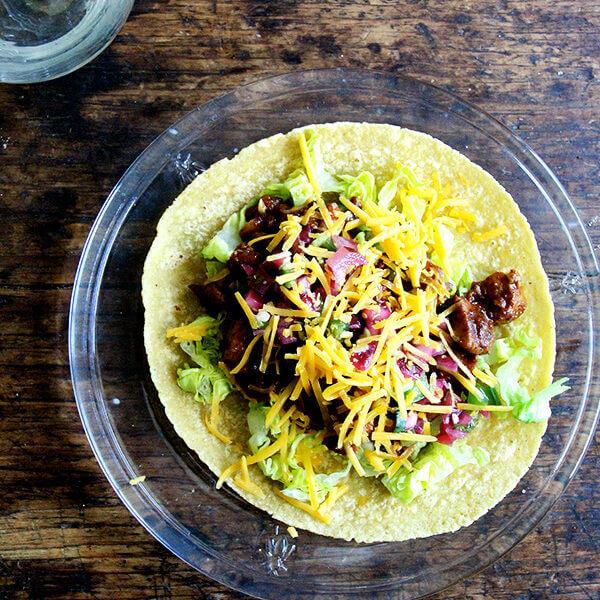 Dragons Love Tacos, Simple Chicken Tacos